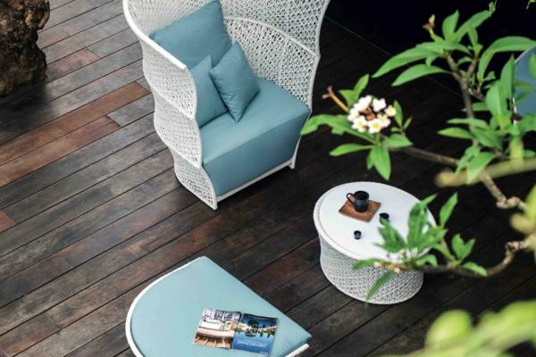 Gartenmöbel Trends 2021 natürliche Materialien