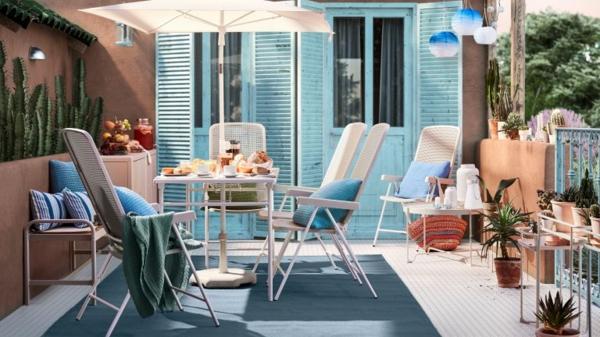 Gartenmöbel Trends 2021 praktische klappbare Möbel