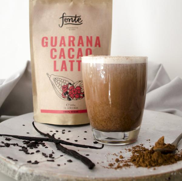 Guarana Kakao Latte schmeckt vorzüglich macht muntert schonende Alternative zu Kaffee