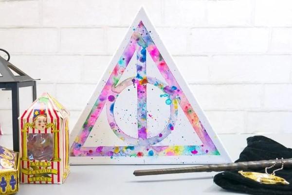 Harry Potter Bastelideen zum 20. Jubiläum – zauberhafte Anleitung für Hexen und Zauberer heiligtümer des todes symbol