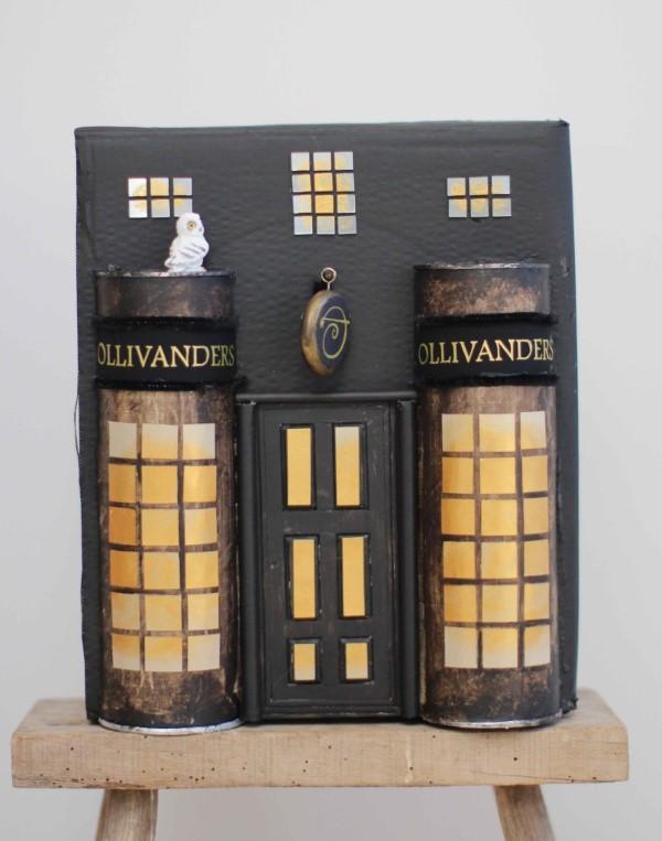 Harry Potter Bastelideen zum 20. Jubiläum – zauberhafte Anleitung für Hexen und Zauberer winkelgasse gebäude schön