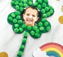 Kleeblatt basteln mit Kindern und Erwachsenen – Ideen und Anleitungen zum St. Patrick's Day