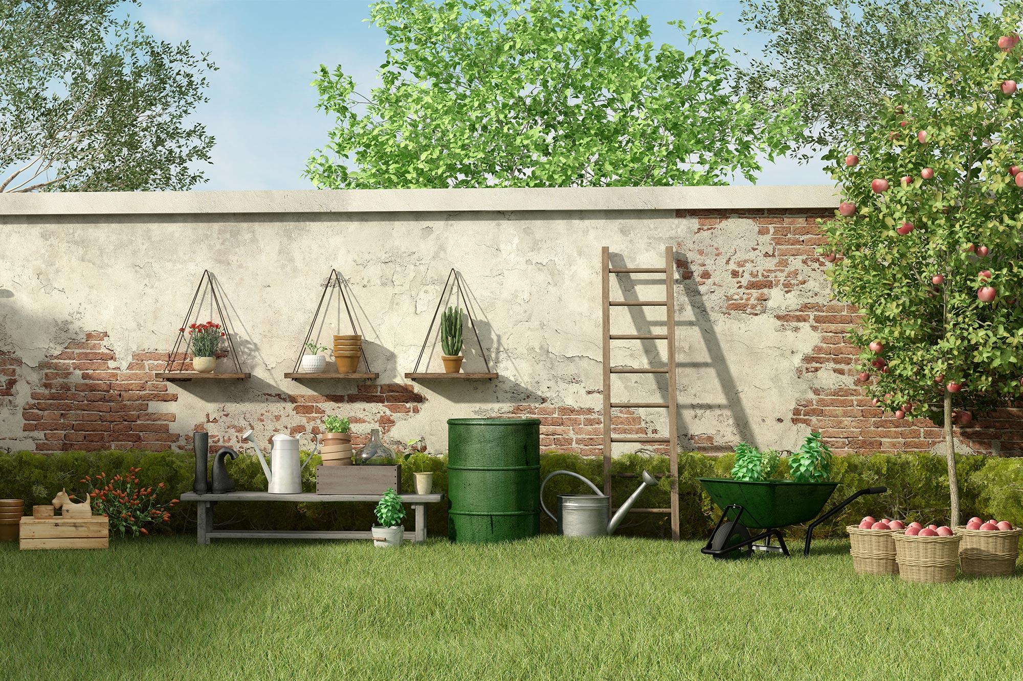 Kleinen Garten gestalten – mit folgenden cleveren Tipps gelingt es ...