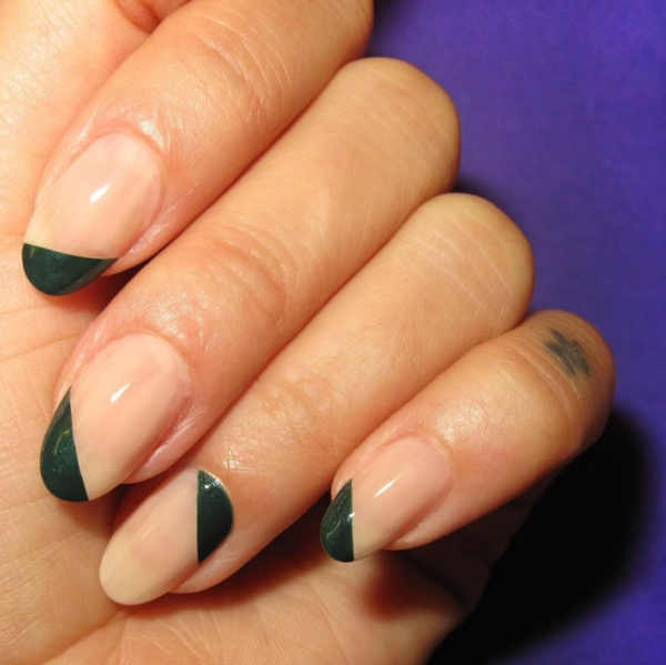 Micro Manicure Ideen Nageltrend Micro French Anleitung