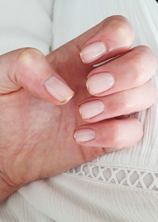 Micro Manicure Nageldesign Nageltrend Micro French Anleitung