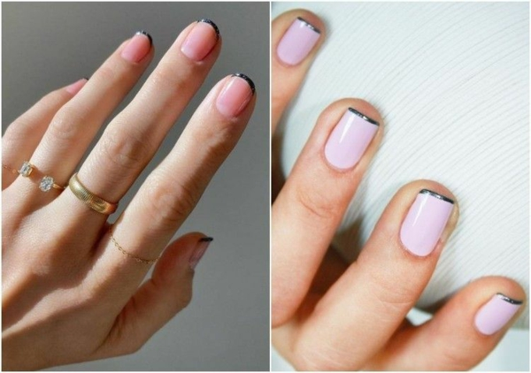Micro Manicure Nageldesign Nageltrend Micro French Manicure Anleitung