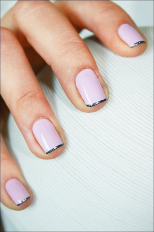 Micro Manicure Nageltrend 2021 Micro French Manicure