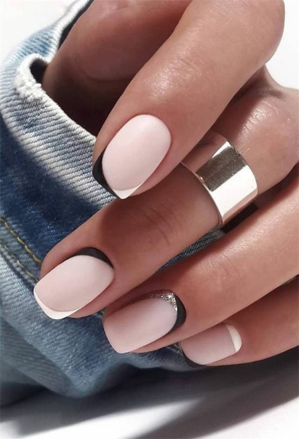 Micro Manicure Nageltrend Micro French Manicure