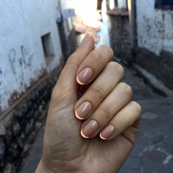 Micro Manicure selber machen Anleitung Nageltrend Micro French Anleitung