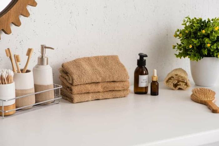 Nachhaltiges Badezimmer bachhaltige badezimmerprodukte zahnbuerste