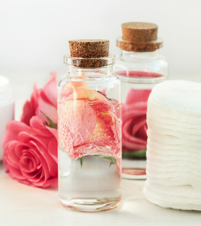 Naturkosmetik selber machen rosenwasser