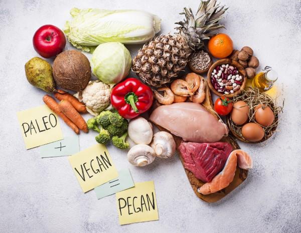 Διατροφή Pegane - η τελευταία τάση τροφίμων - Combi από Paleo και Vegan νέα διατροφή υγιεινή ή όχι