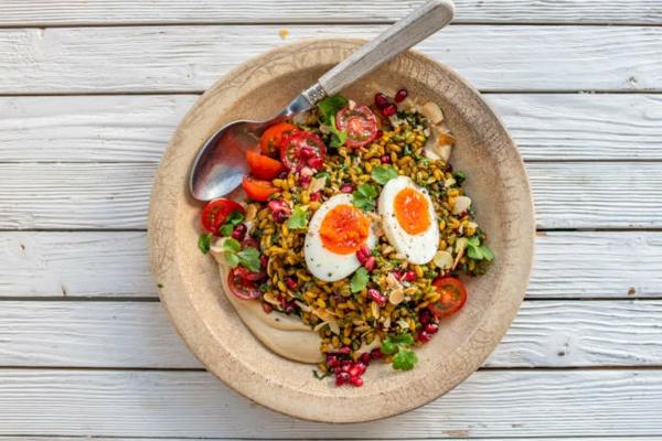 Superfood Freekeh Getreide Salat