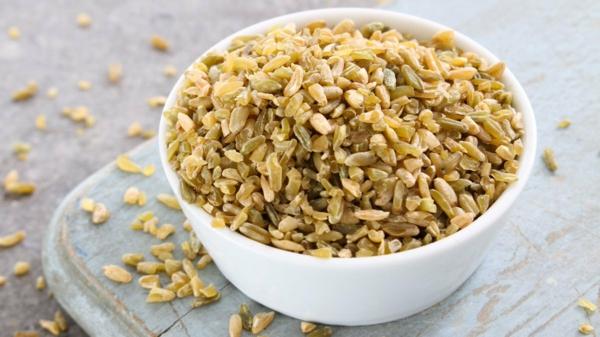 Superfood Freekeh Getreide Schale