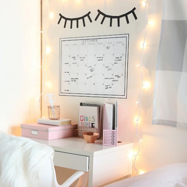 Tumblr Zimmer einrichten Ideen Schlafzimmergestaltung Schreibtisch