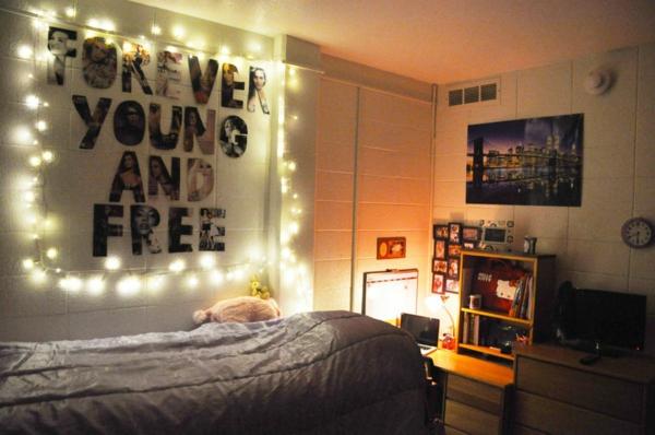 Tumblr Zimmer einrichten Merkmale Lichter Bilder