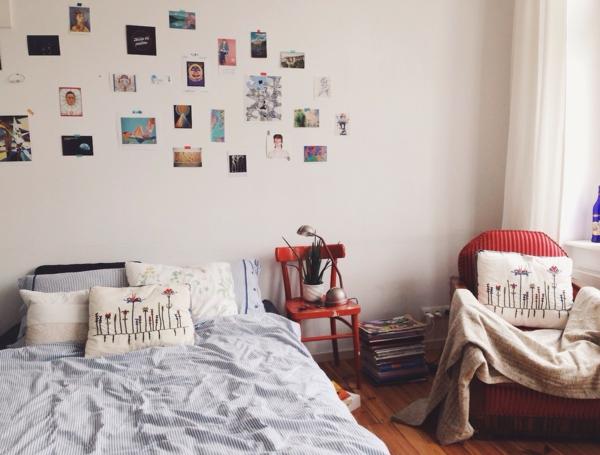 Tumblr Zimmer einrichten Merkmale Schlafzimmer Wanddeko Bilder
