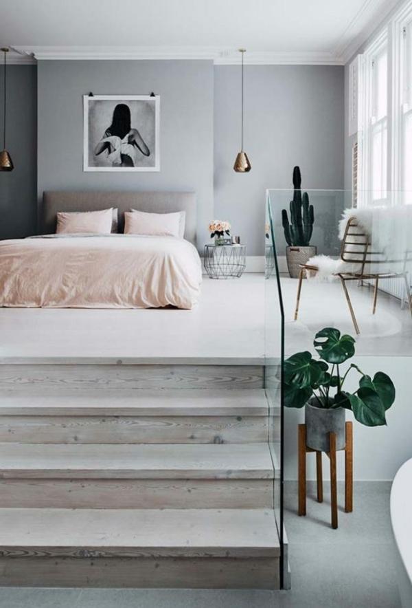 Tumblr Zimmer einrichten Merkmale minimalistisches Schlafzimmer