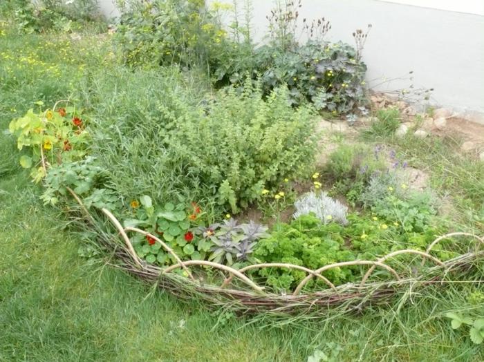 Welche Kräuter passen zusammen kräutergarten anlegen