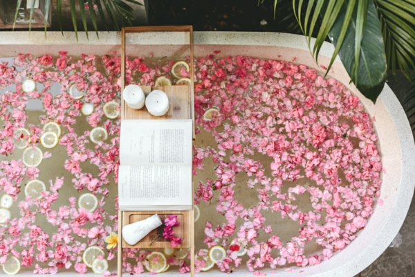 Wellness Trends Badewanne geistige und körperliche Erholung