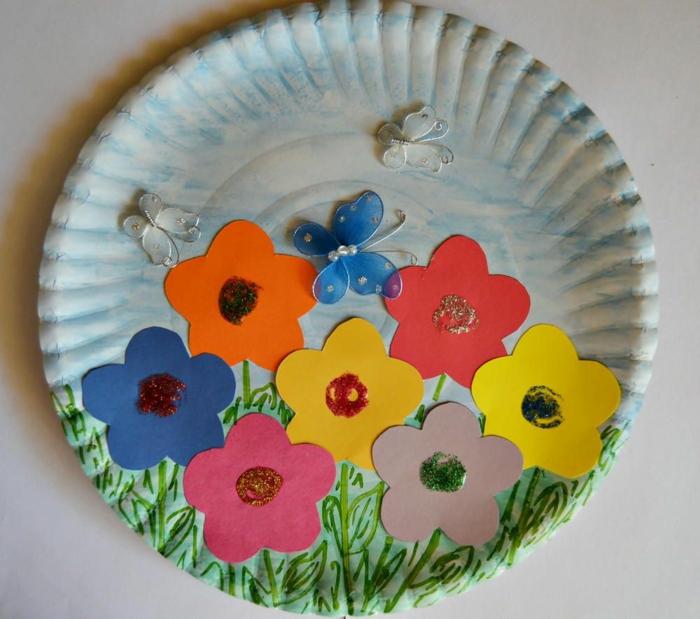basteln mit kindern im frühling upcycling ideen flora