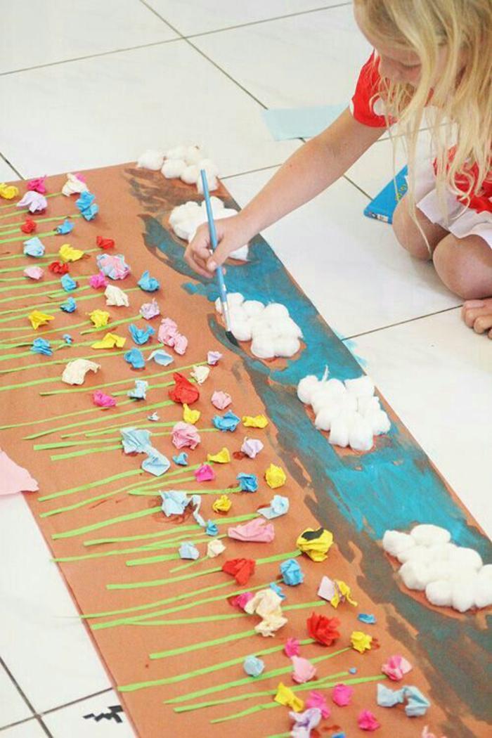 basteln mit kindern im frühling upcycling ideen plastik