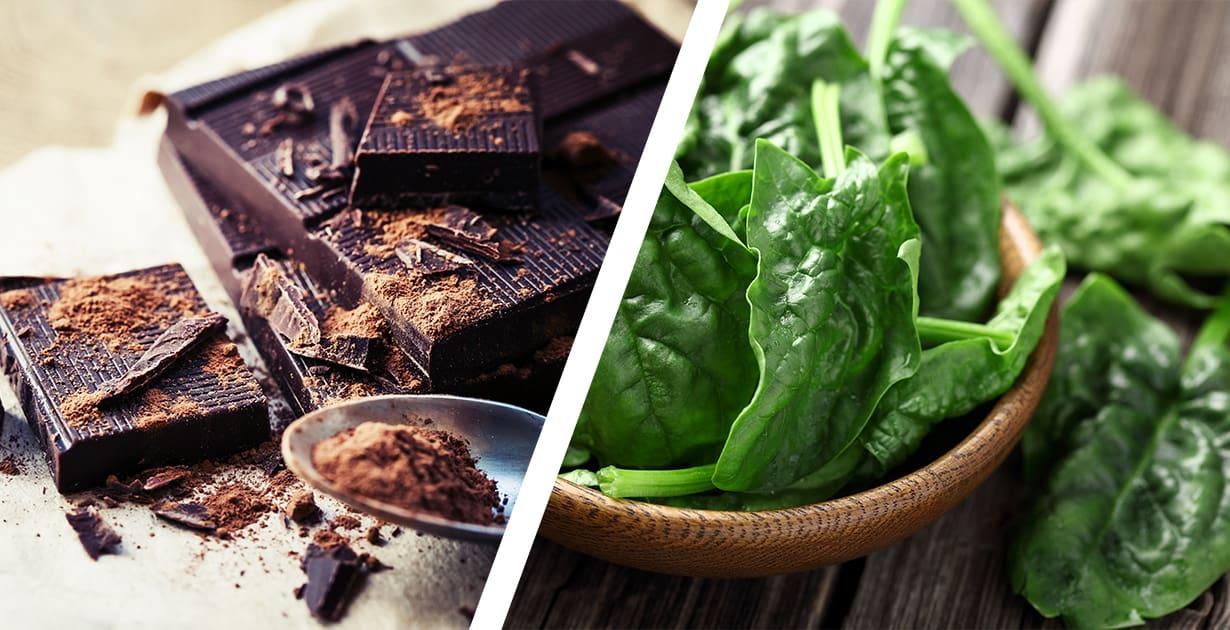 blutbildende lebensmittel dunkler kakaopulver
