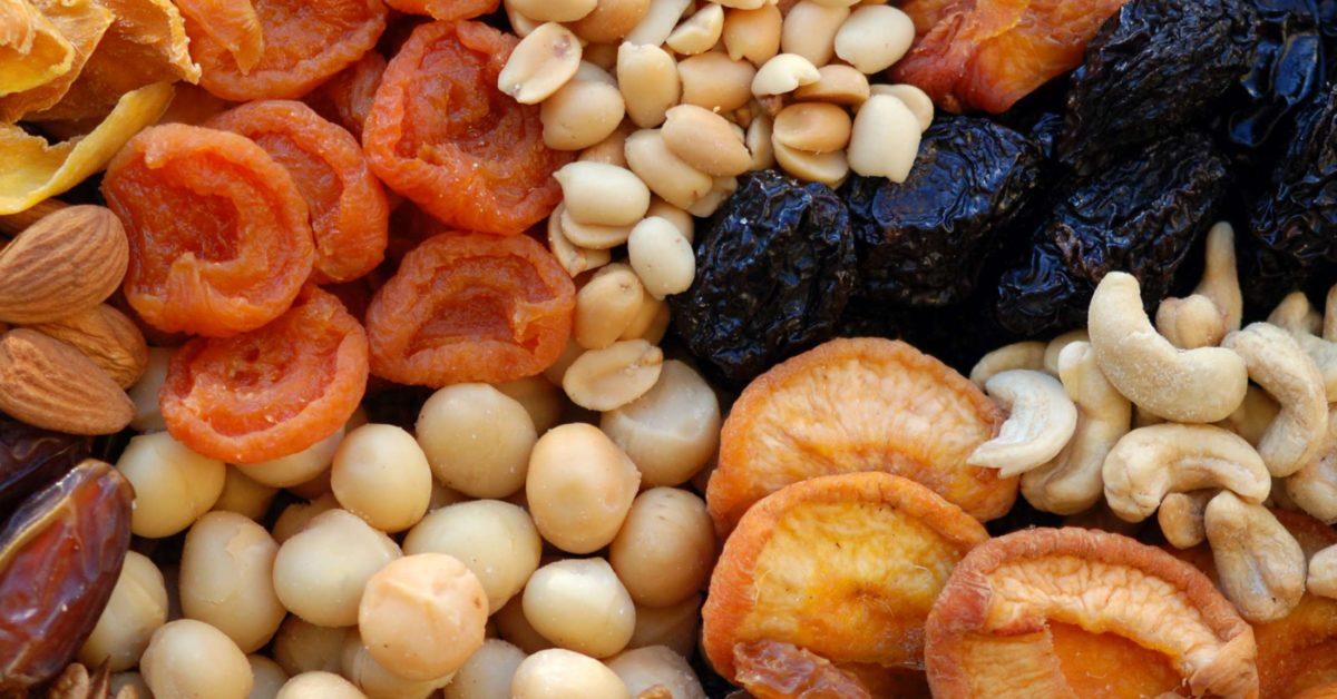 blutbildende lebensmittel getrocknete früchte