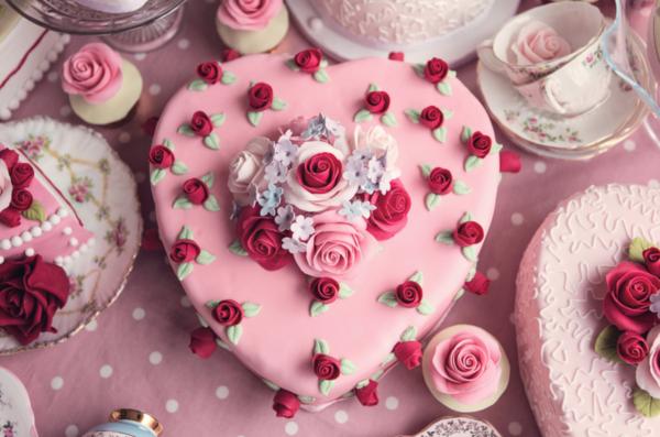 fabelhaften valentinskuchen verschenken