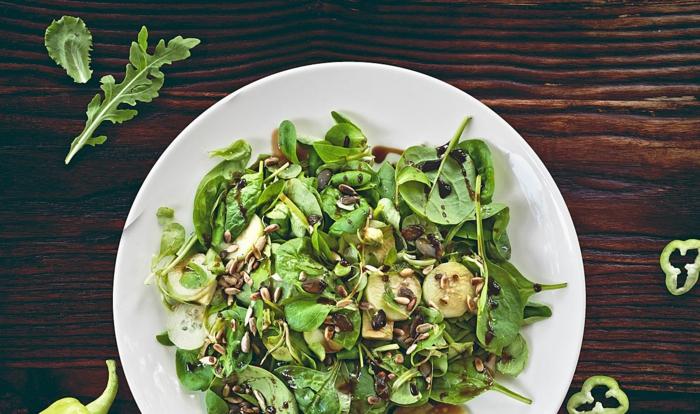 gesunde frühlingsrezepte salatdressing