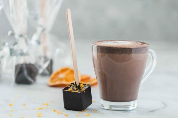heiße Schokolade am Stiel zubereiten Zubereitungstipps