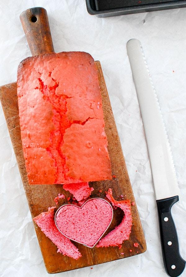 herzkuchen valentinstag dessert