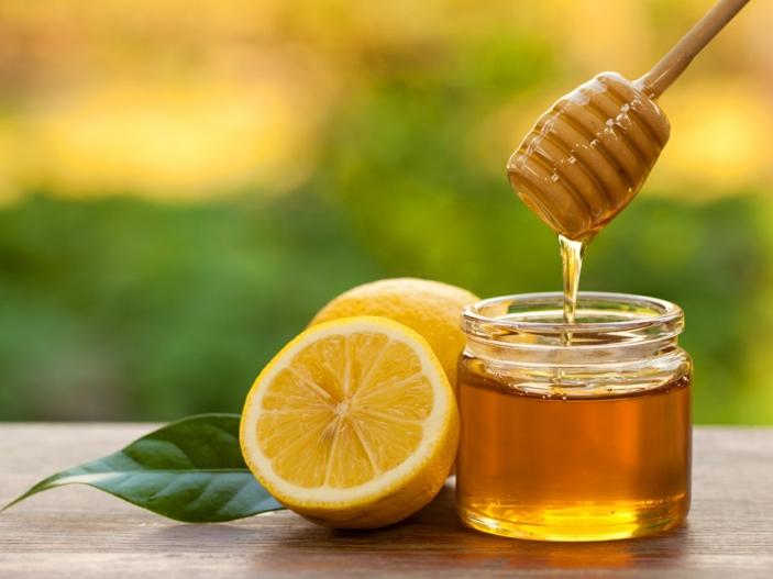 Kräuter für die Atemwege zitrone und honig