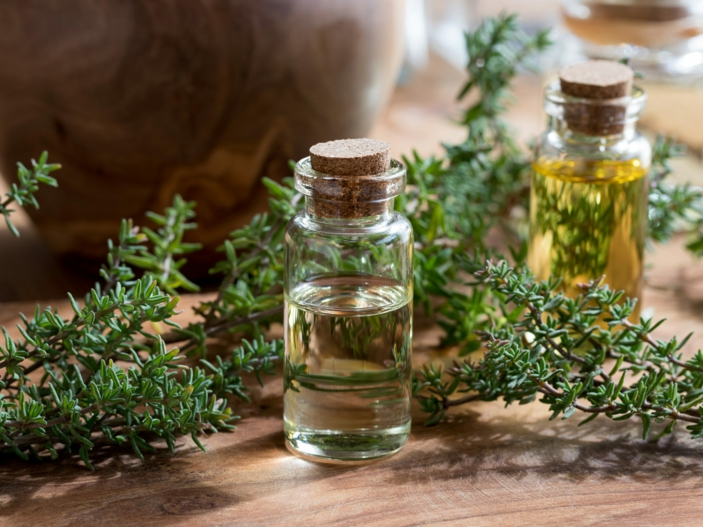 Kräuter für die Atemwege zitrone und thymianoel