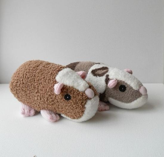 meerschweinchen sockentiere basteln