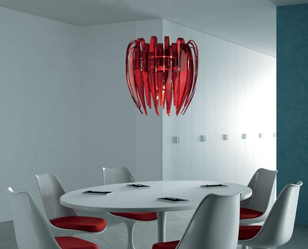 moderne murano glas hängeleuchte