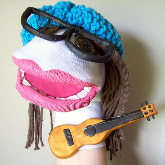 muppet show handpuppen selber machen aus socken