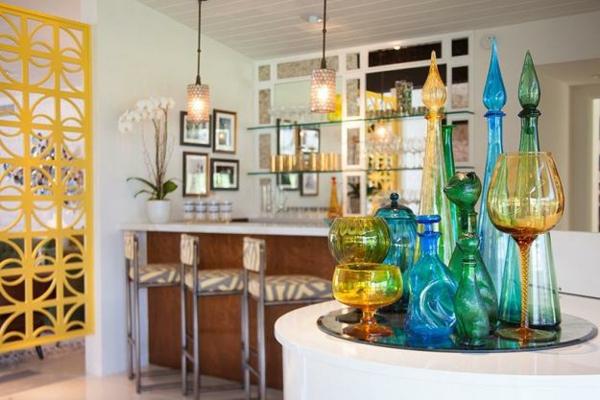 murano glas moderne einrichtungsideen vasen