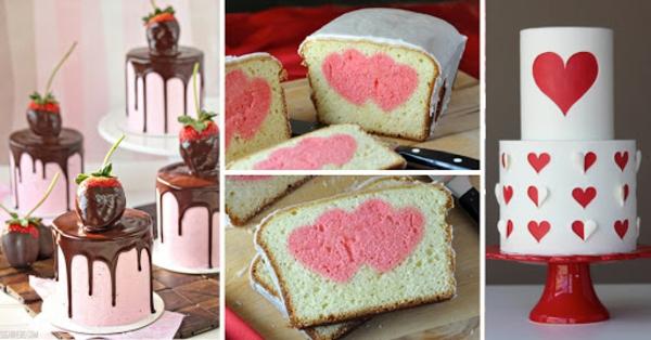 originellen valentinskuchen selber zubereiten