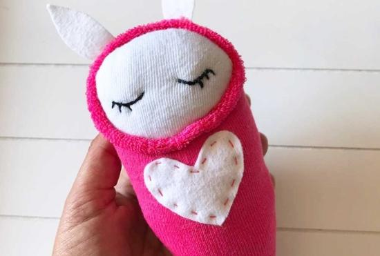 osterhasen basteln valentinstag geschenkidee