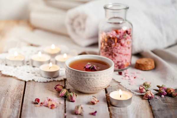 vitalisierende Tees Rosenblütentee ein Genuss für Körper und Seele