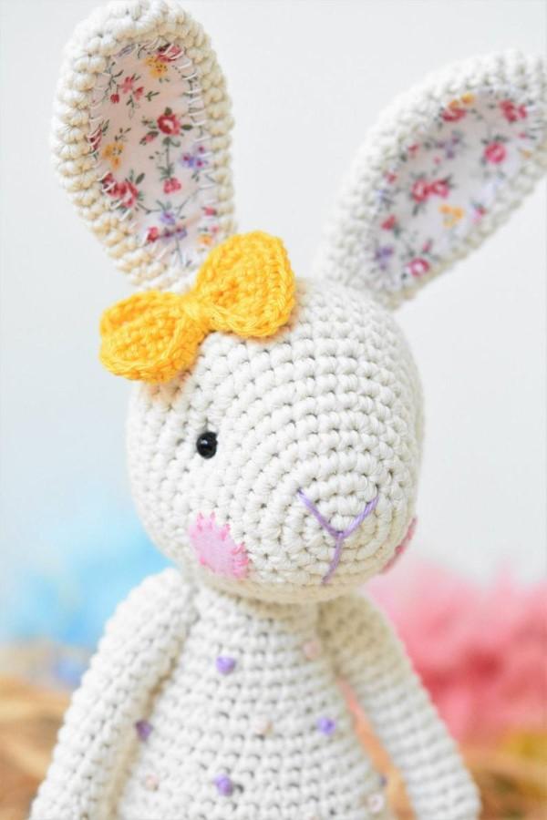 Amigurumi Hase häkeln – Ideen für Ostern zum Inspirieren und Nachmachen osterhase niedlich schön