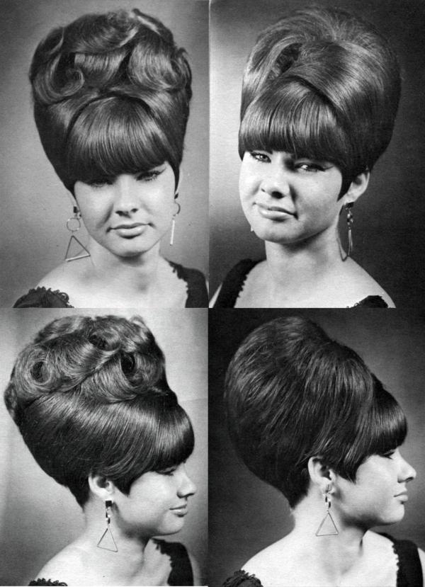 Beehive Frisur Geschichte 60er Jahre Style