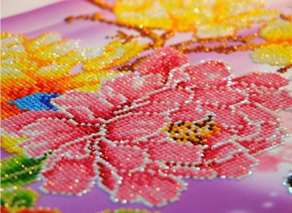 Diamond Painting – der Trend, der gegen Stress wirkt schöne rosa rosen