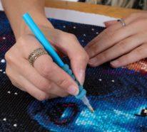 Diamond Painting – der Trend, der gegen Stress wirkt