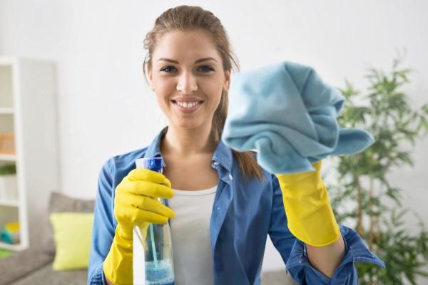 Frühjahrsputz Checkliste und andere schlaue Tipps fenster waschen putzen schön glänzend