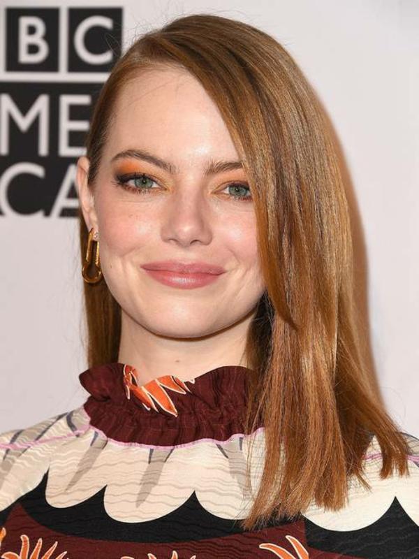 Frisuren für runde Gesichter Kurzhaarschnitte Seitenscheitel