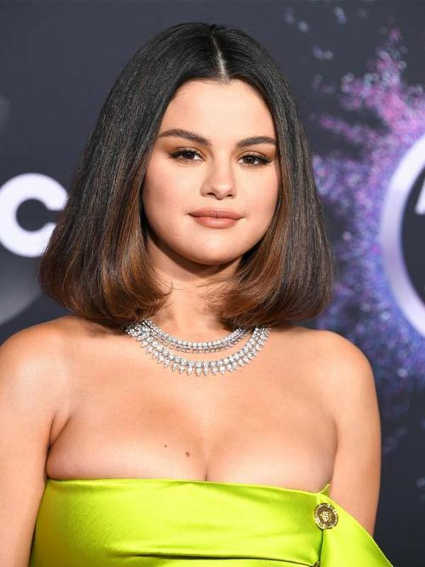 Frisuren für runde Gesichter Kurzhaarschnitte Selena Gomez