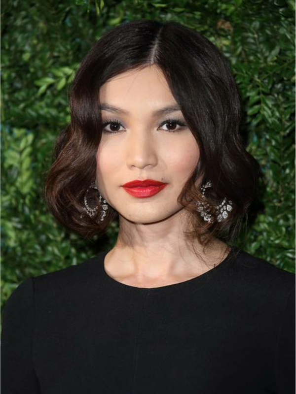 Frisuren für runde Gesichter Kurzhaarschnitte Trendfrisuren Wellen