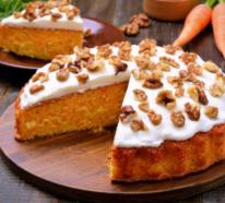 Traditionelle Osterspezialität – zwei Karottenkuchen Rezepte wie aus Omas Zeiten